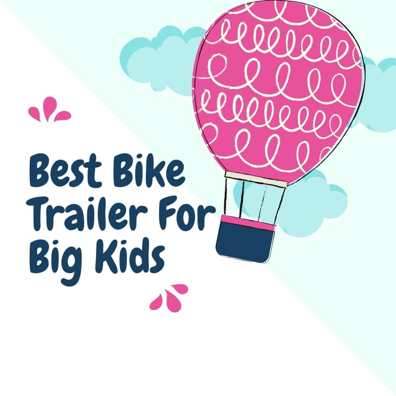 Bike Trailer for Big Kid