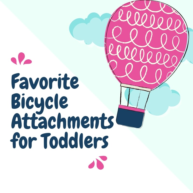 Favorite Bicycle Attachments for Toddlers