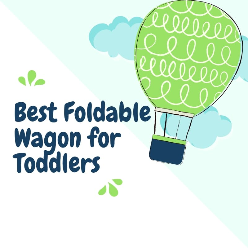 Foldable Wagon for Toddlers