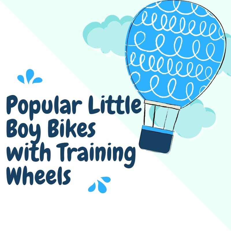 Popular Little Boy Bikes with Training Wheels