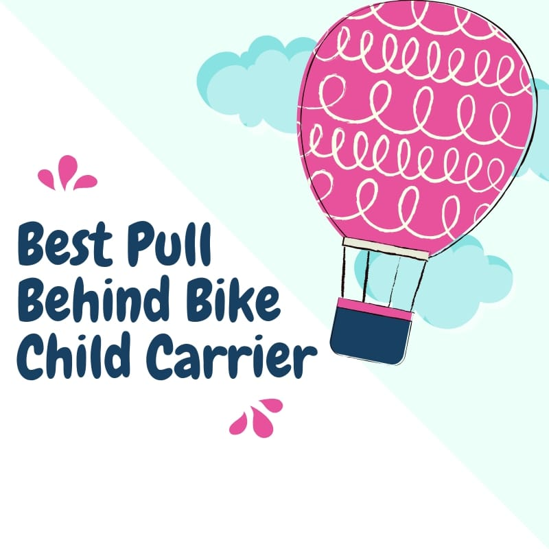 Pull Behind Bicycle Child Carrier
