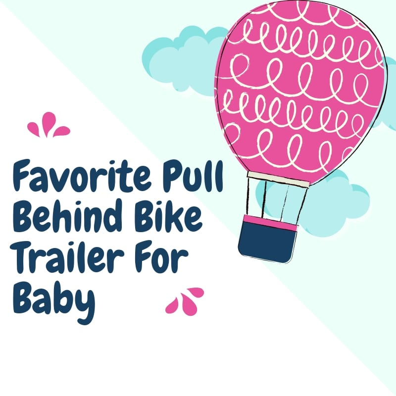 Pull Behind Bike Trailer For Baby