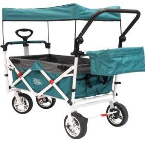 creative outdors foldable wagon blue