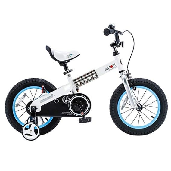 royalbaby honey and buttons bike with training wheels