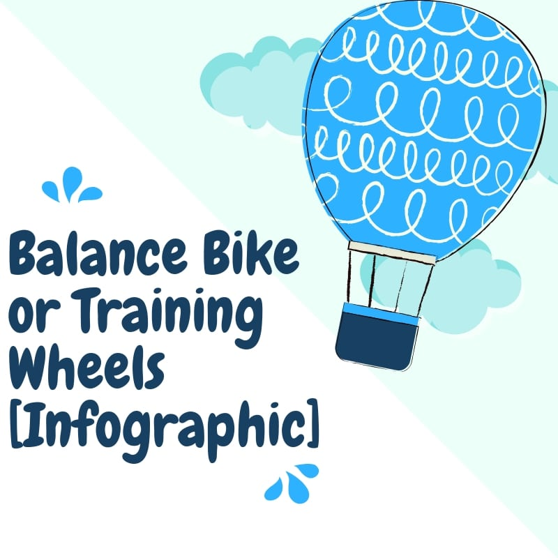 Balance Bike or Training Wheels infographic