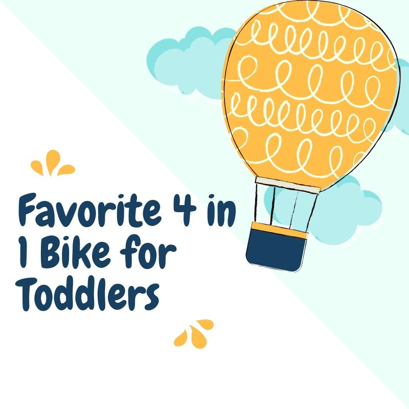 Favorite 4 in 1 Bike for Toddlers