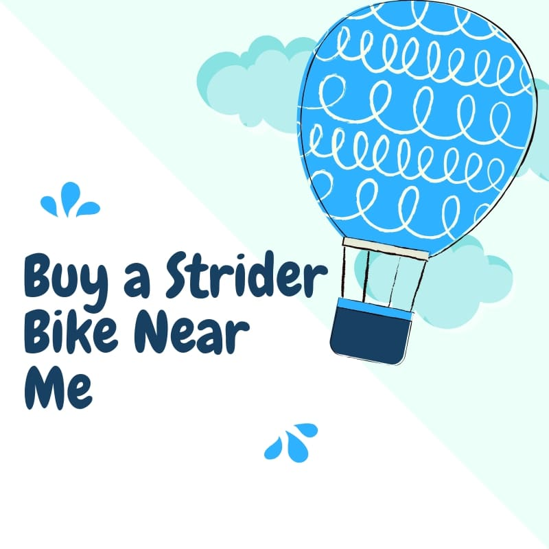 Buy a Strider Bike Near Me